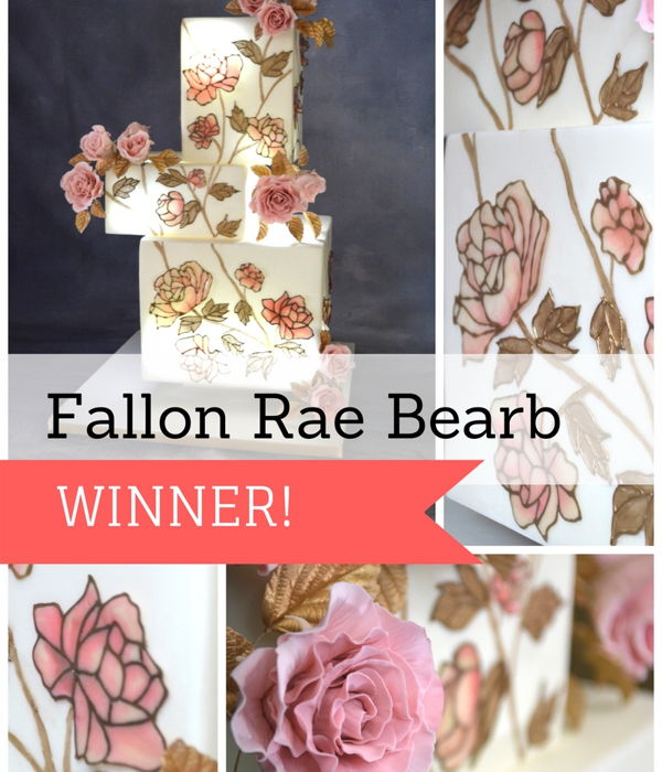 Flexique™ Instant Lace Cake Contest Winner Fallon...