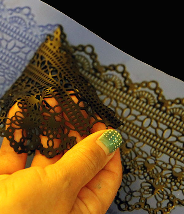 How To Get Perfect Edible Lace in Seconds with Flexique...