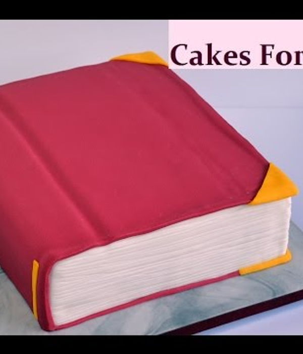 How to Make a Book Cake