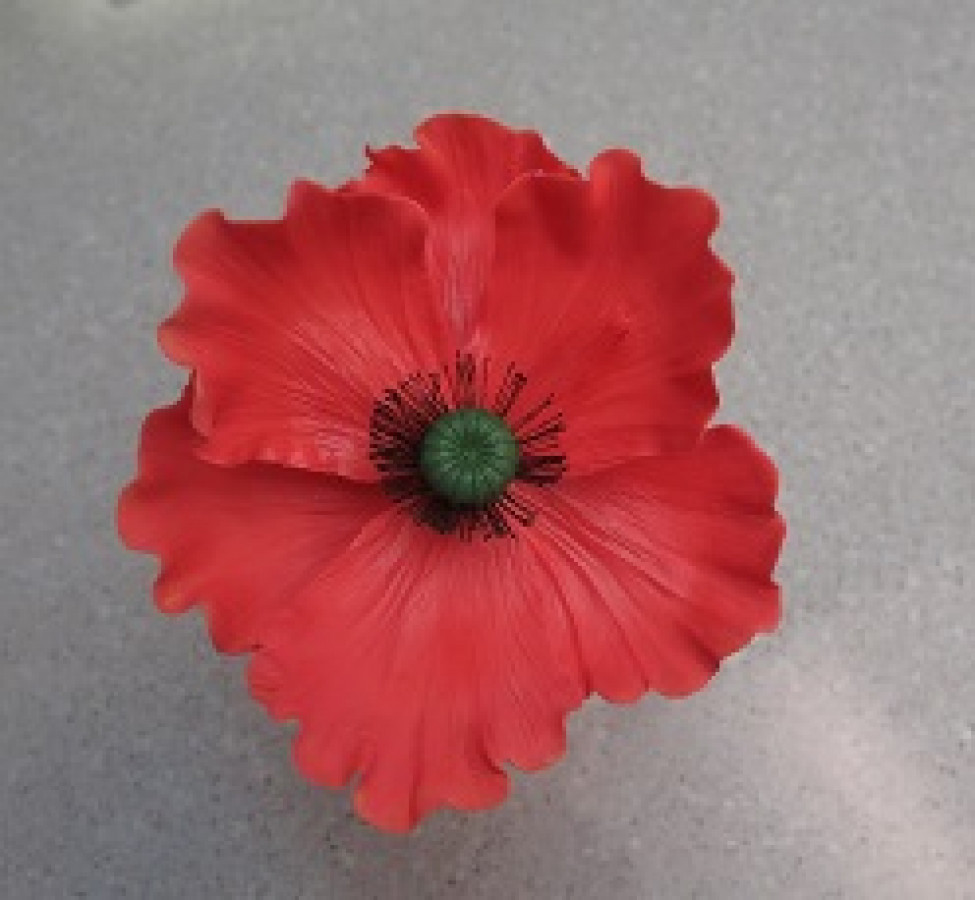 Making Poppies Out Of Gumpaste