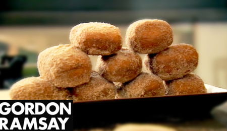 Gordon Ramsay's Chocolate Donuts