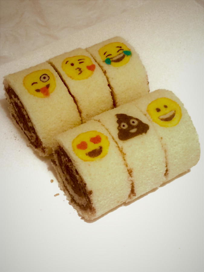 Decorated Individual Swiss Rolls
