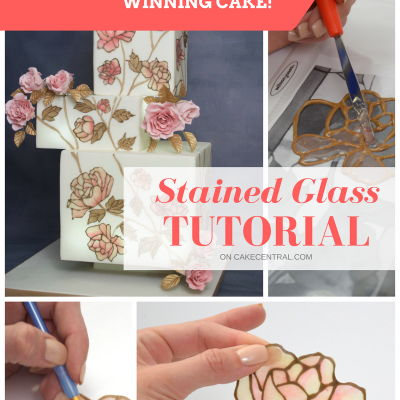 How To Make Edible Stained Glass on Cake Central