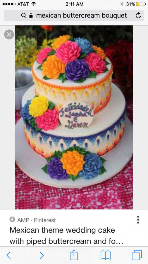 Mexican Wedding Cake Frosting