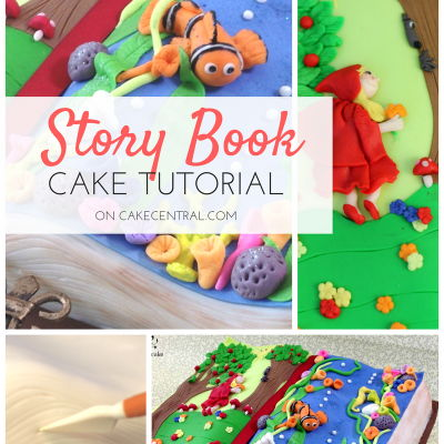 Story Book Cake Tutorial on Cake Central