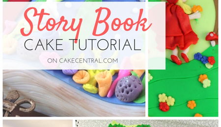 Story Book Cake Tutorial