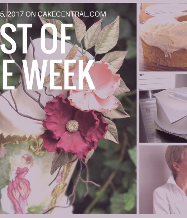Best Of The Week On Cake Central August 05, 2017