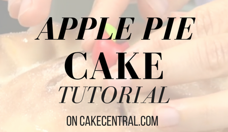 Apple Pie Cake Tutorial