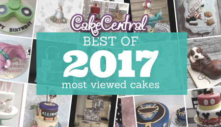 Most Viewed Cakes in 2017