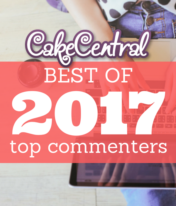 Top Cake Commenters of 2017
