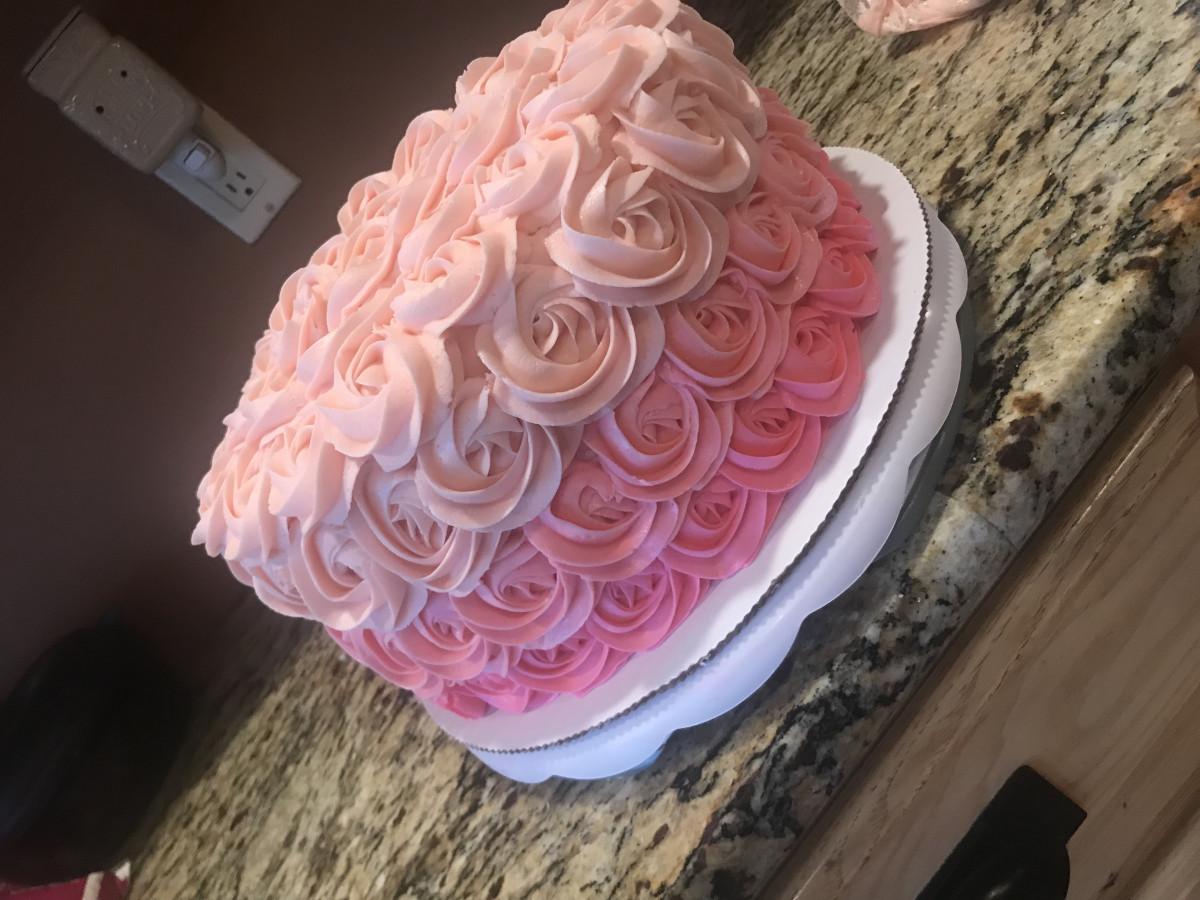 Rosette Cake Price
