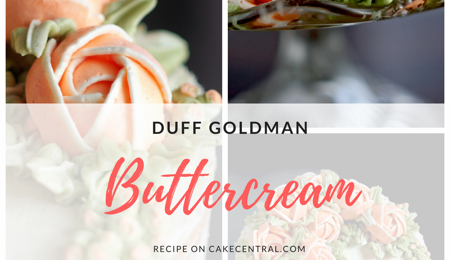 Duff Goldman Buttercream Recipe