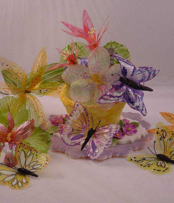 How to Make Gelatin Flowers and Bows