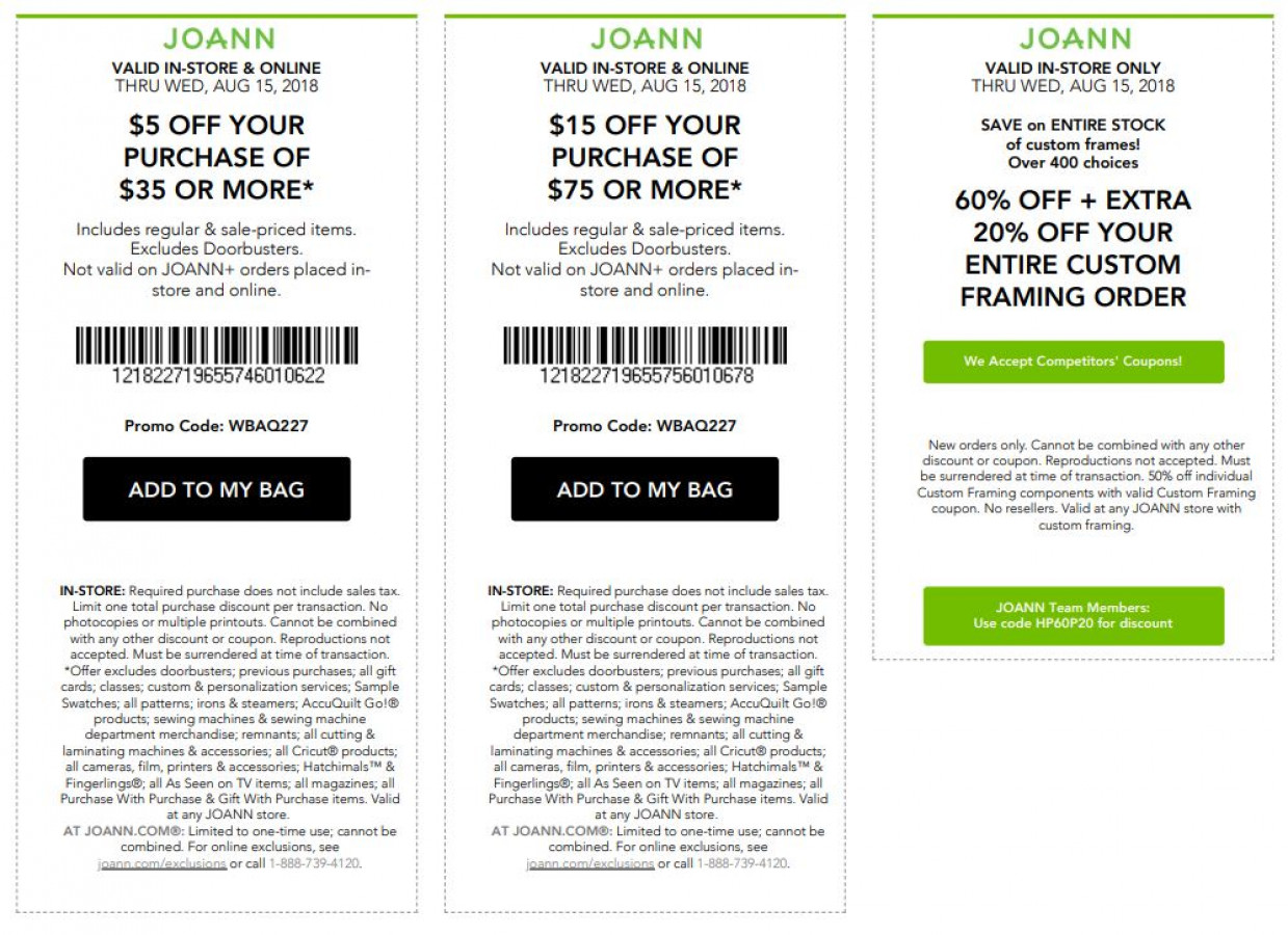 60% Off Joannes Fabrics Coupons - CakeCentral.com