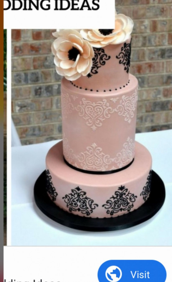 Help On Wedding Cake Design