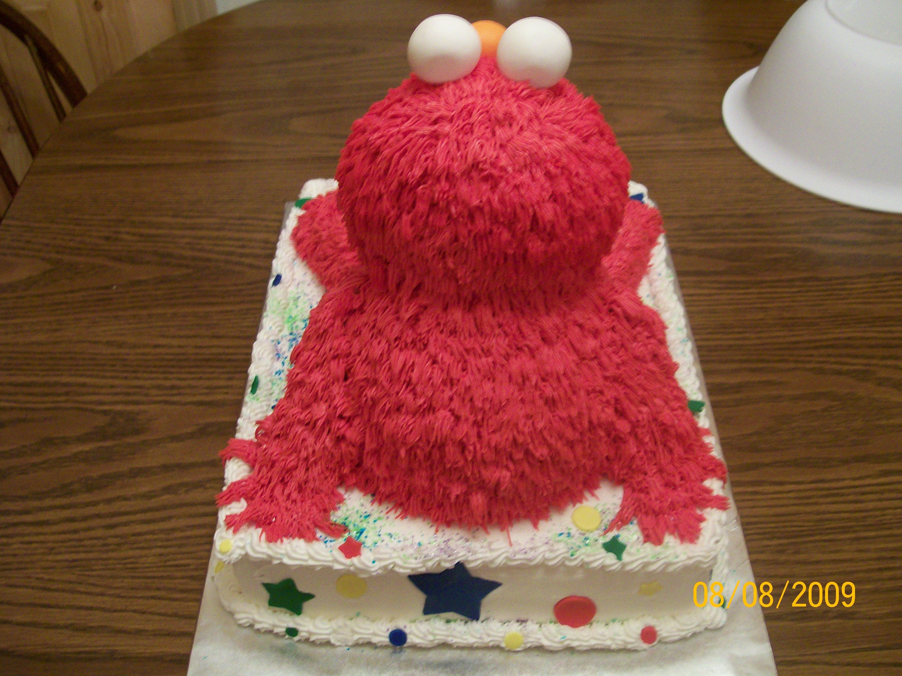 Elmo 2Nd Birthday - CakeCentral.com