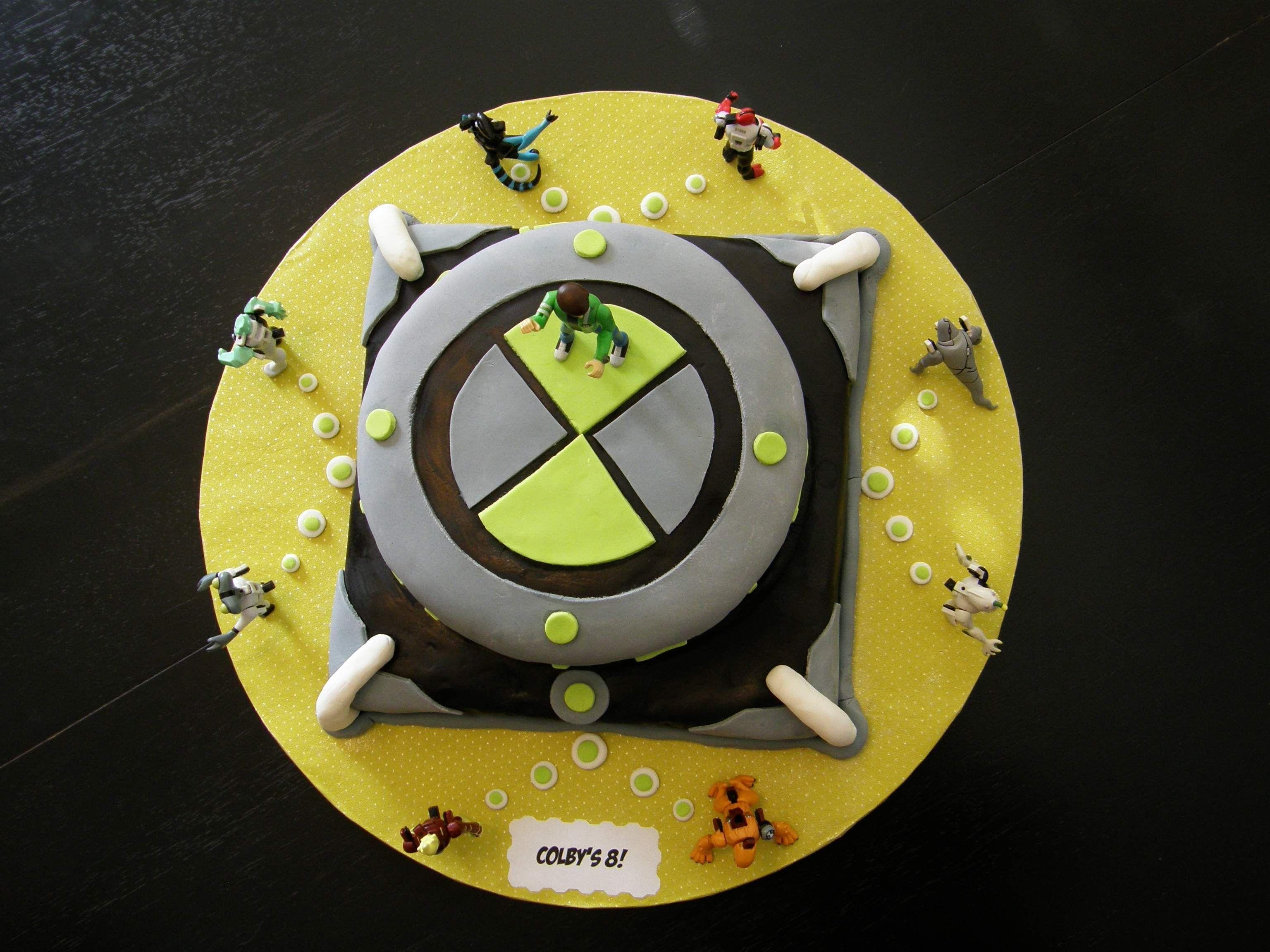 Alien Birthday Cake Pictures