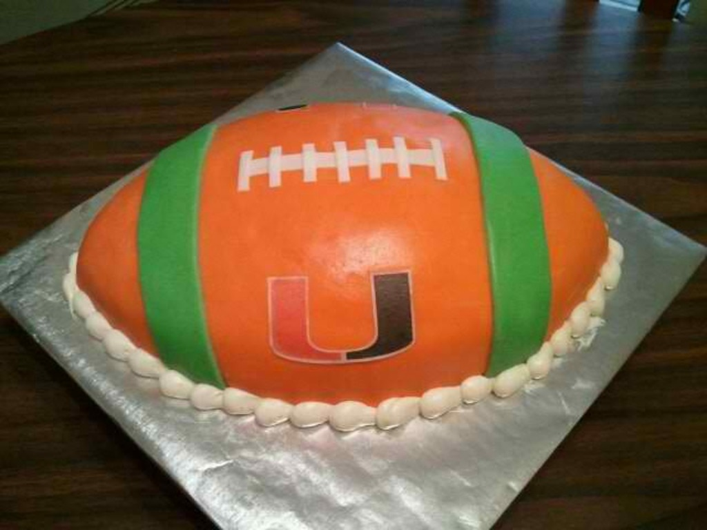 Miami Hurricanes Football Cakecentral