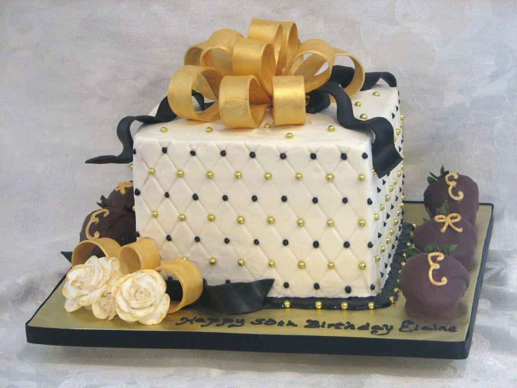 Black Gold 50Th Birthday