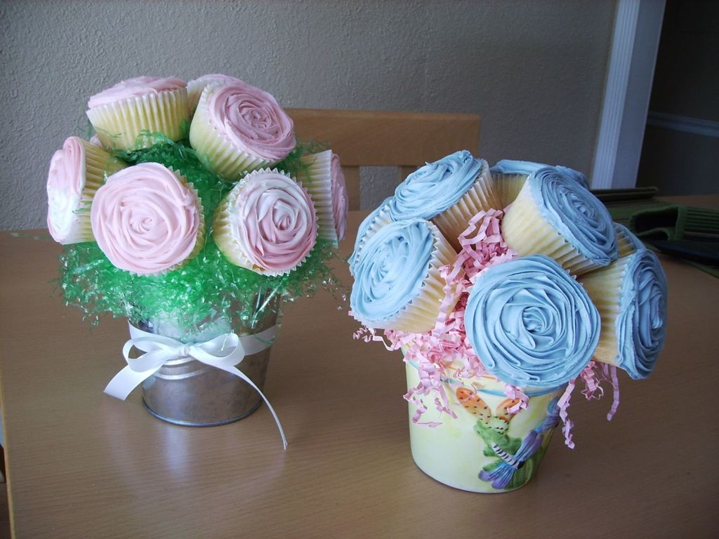 Cupcake Flower Bouquets Cakecentral