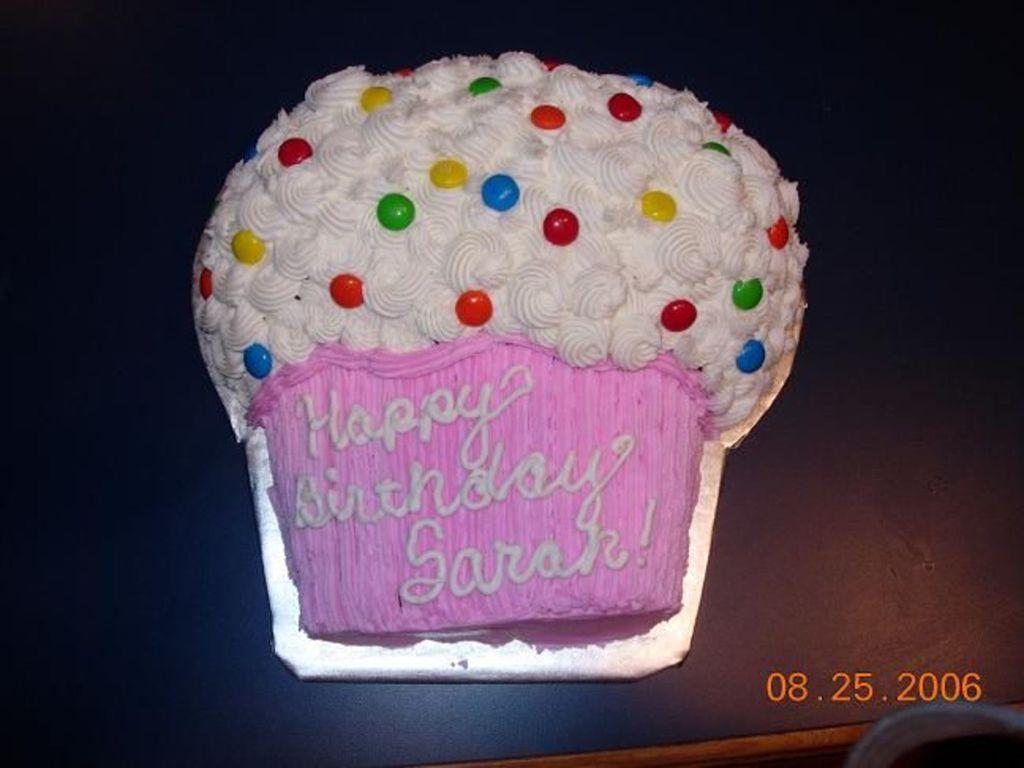 Peachy Happy Birthday Sarah Cakecentral Com Funny Birthday Cards Online Necthendildamsfinfo