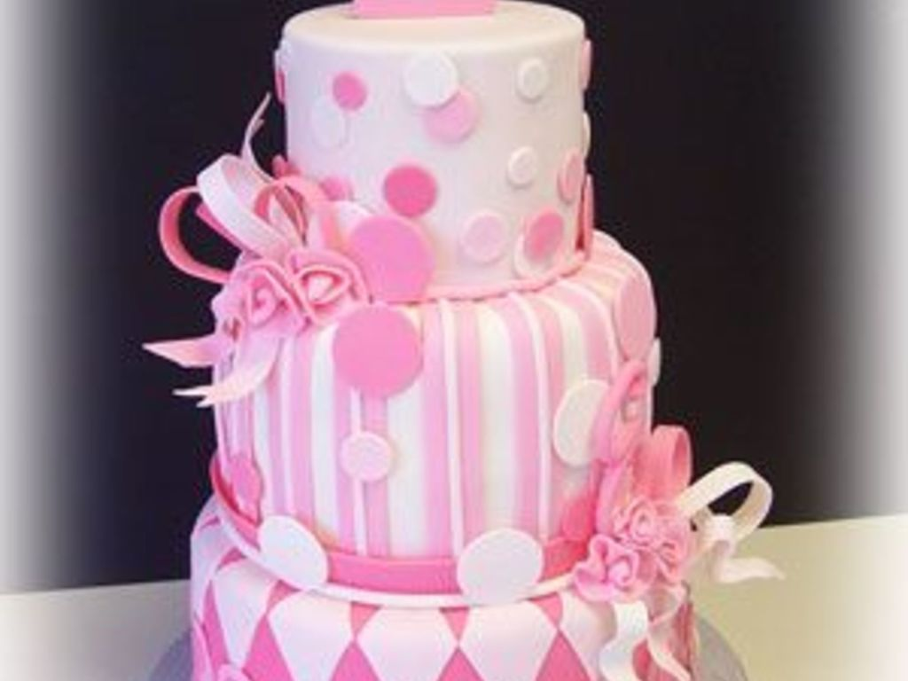 Pretty In Pink Emmas First Birthday Cakecentral