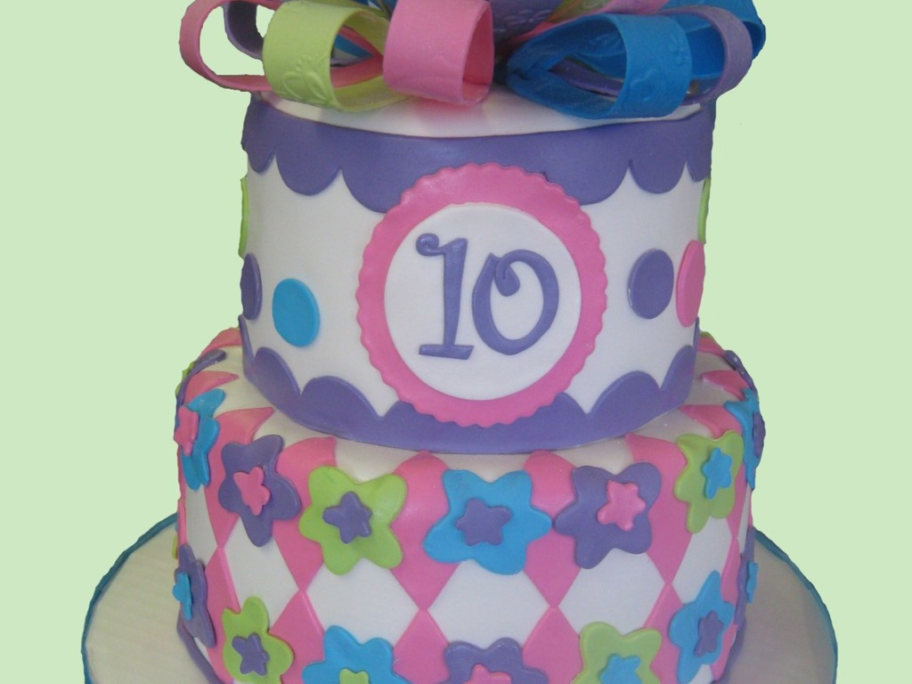 Girly 10Th Birthday