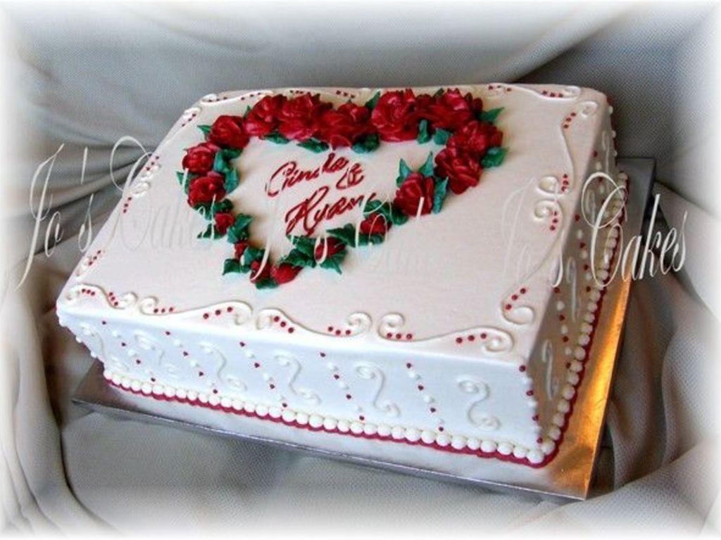 Bridal Shower Sheet Cakes