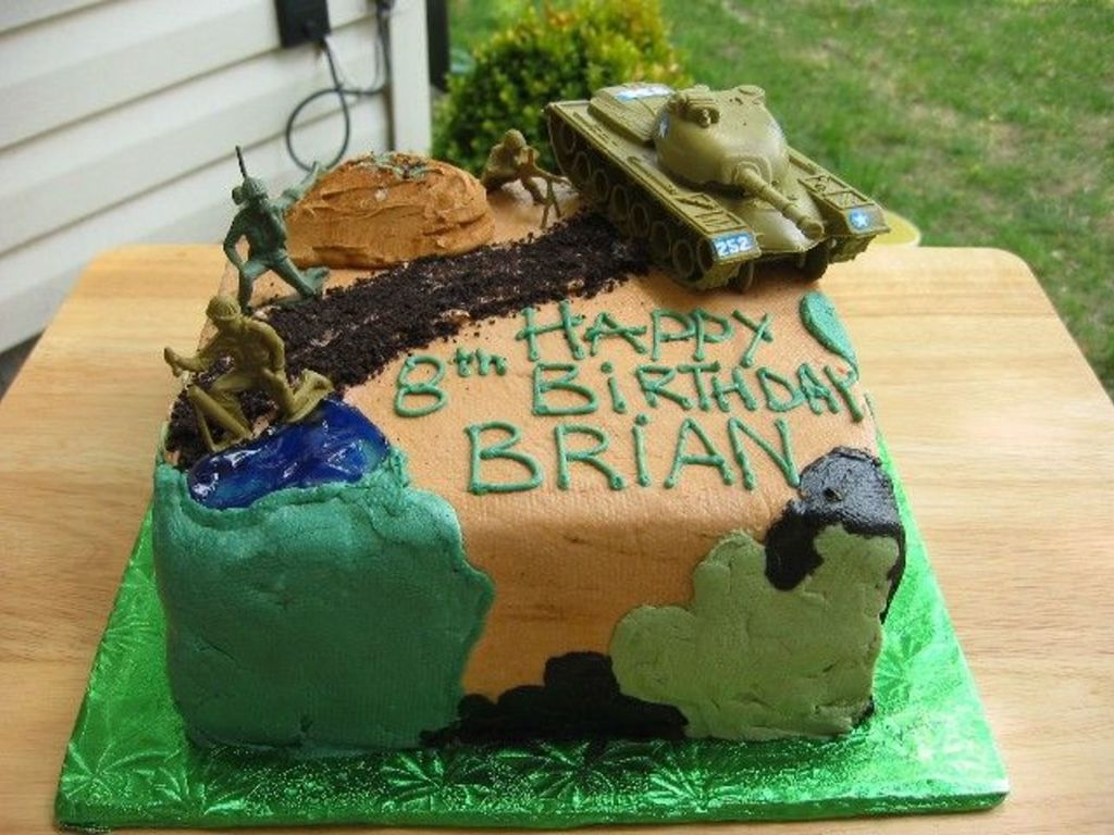 Outstanding Camoflauge Soldier Birthday Cakecentral Com Funny Birthday Cards Online Aeocydamsfinfo