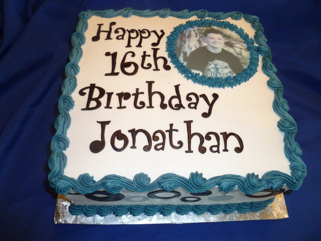 Jonathans 16th Cakecentral