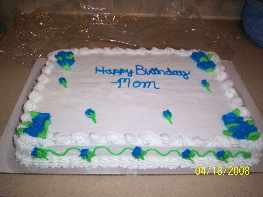 Birthday Cake For 52 Year Old Woman