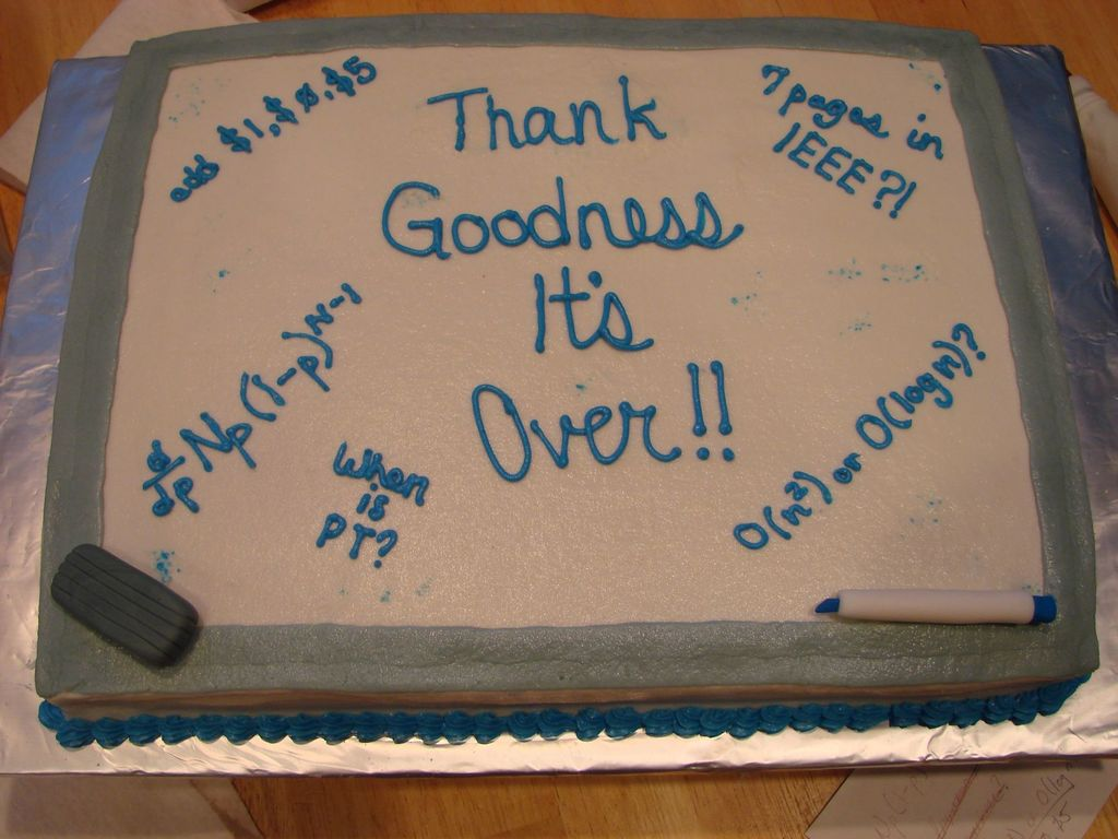 End Of Quarter Party Cakecentral