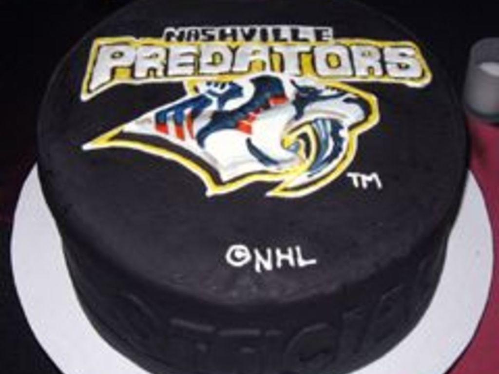 Predators Hockey Puck