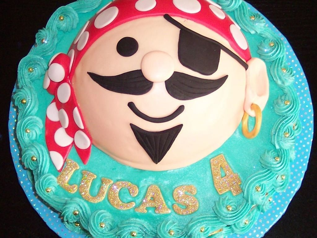 Pirate Face Cake Cakecentral
