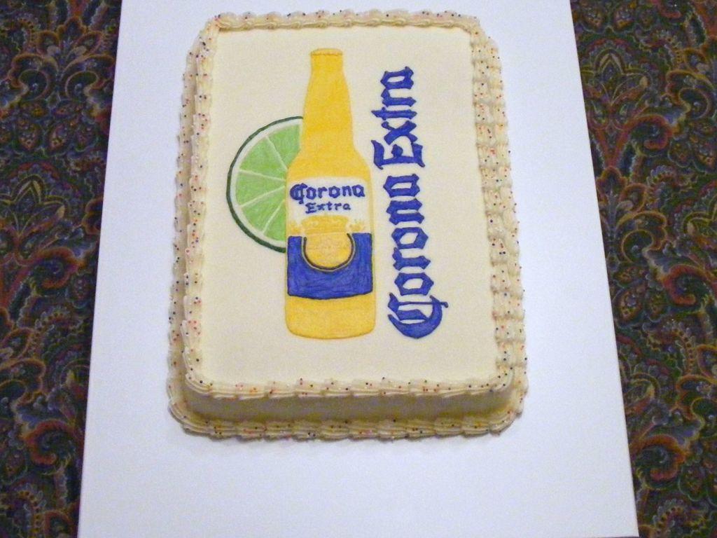 corona cake images