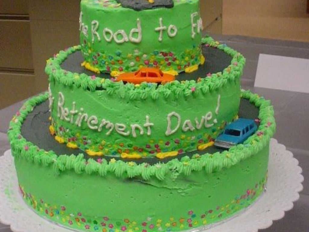 Dave K Retirement Cake Waukesha Electric Systems CakeCentralcom