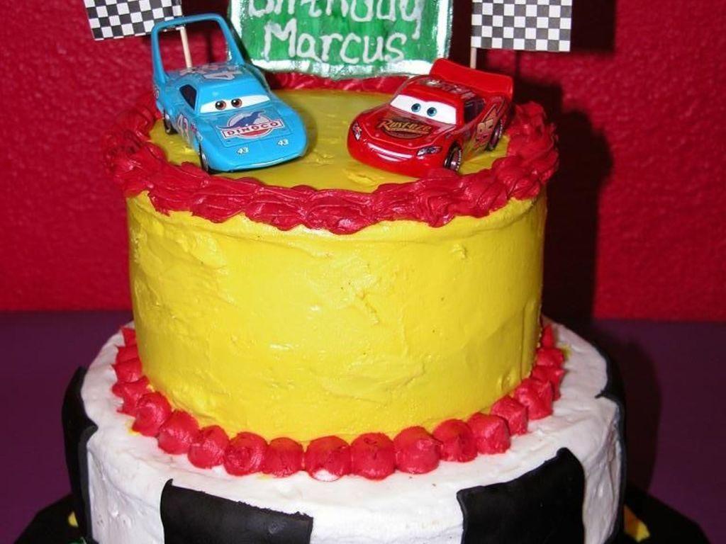 Pixar Cars Birthday Cake Cakecentral Com