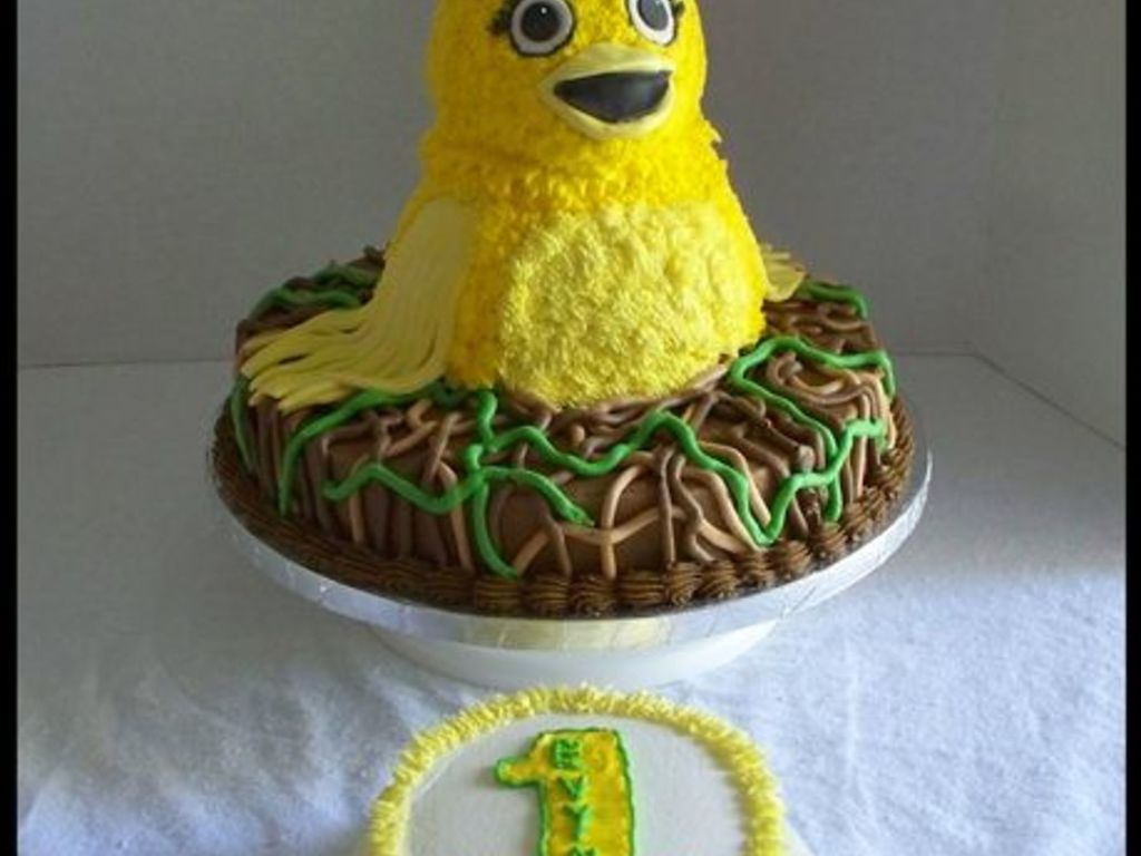 Chica From The Pbs Kids Show Sprouts Cakecentral