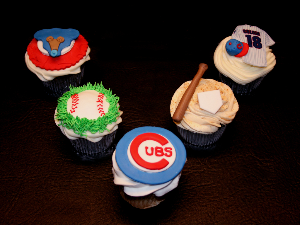 Chicago Cubs Baby Shower Cupcakes Cakecentral
