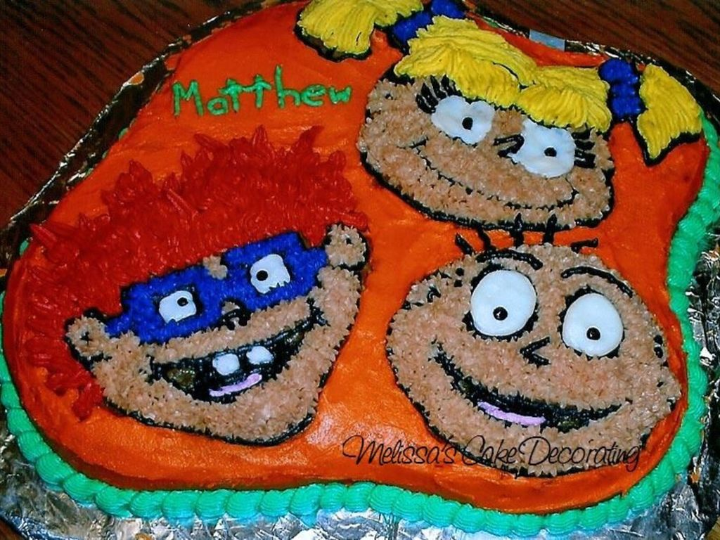 Miraculous Rugrats Birthday Cake Cakecentral Com Funny Birthday Cards Online Necthendildamsfinfo