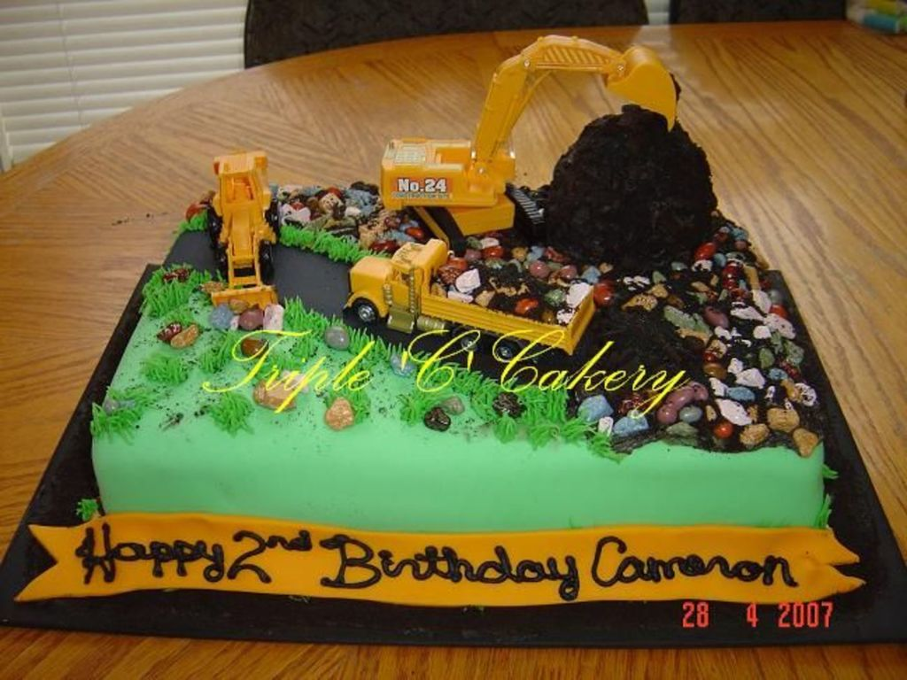 Construction Cake For Cameron Cakecentral