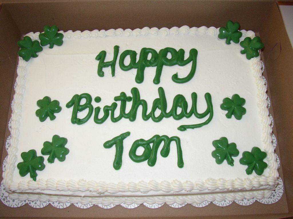 Fine Irish Birthday Cake Cakecentral Com Birthday Cards Printable Riciscafe Filternl