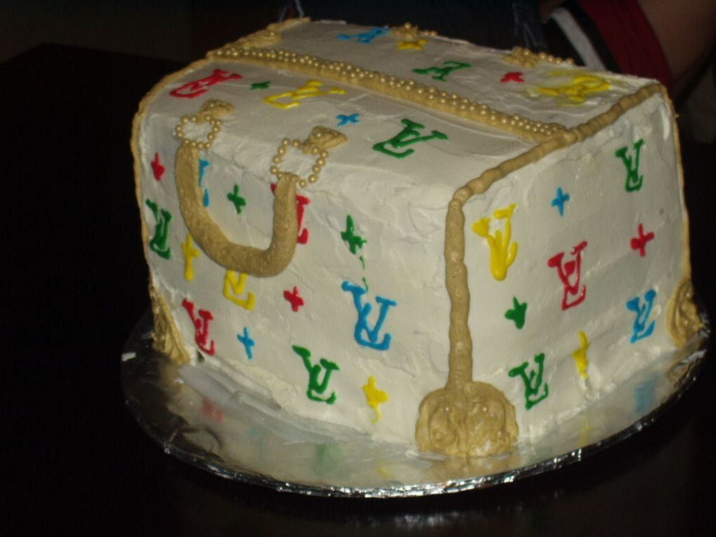 Louis Vuitton Cake 24 Year Olds Birthday Cakecentral