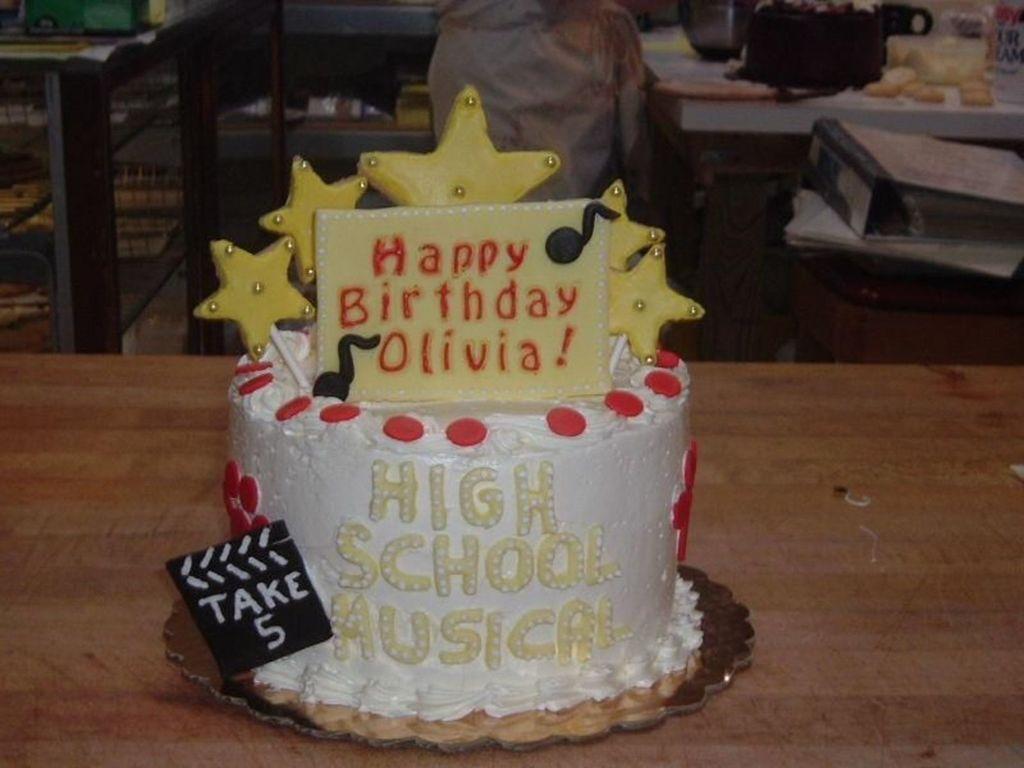 High School Musical 5 Year Old Birthday