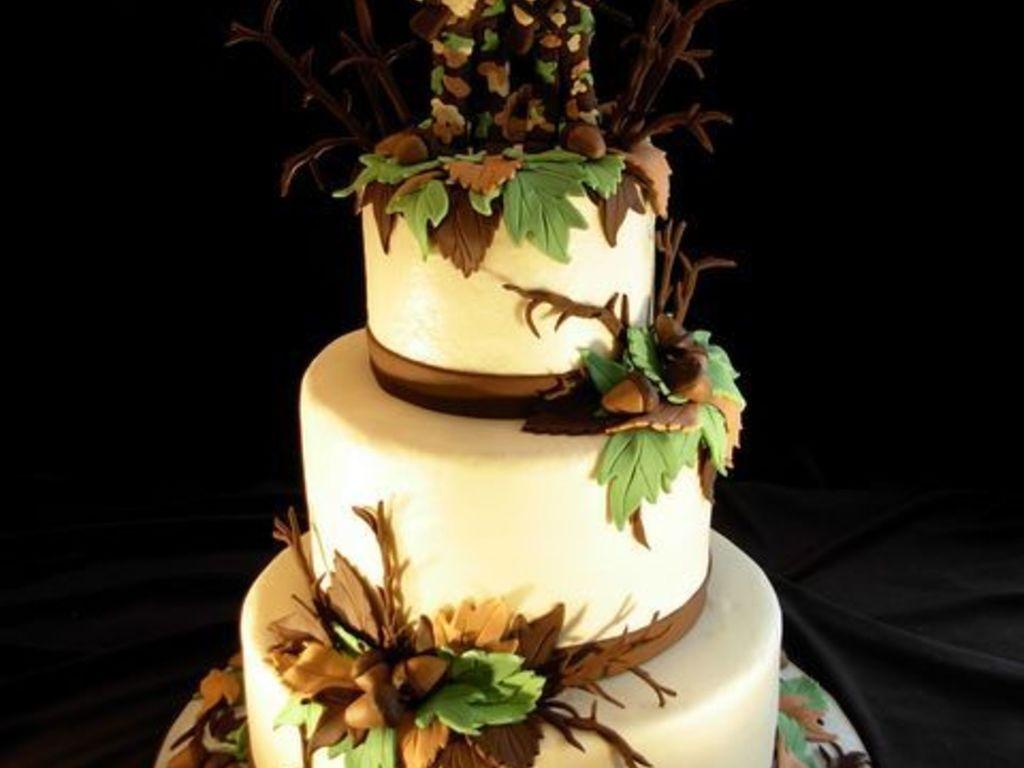 Hunting Wedding Cake - CakeCentral.com