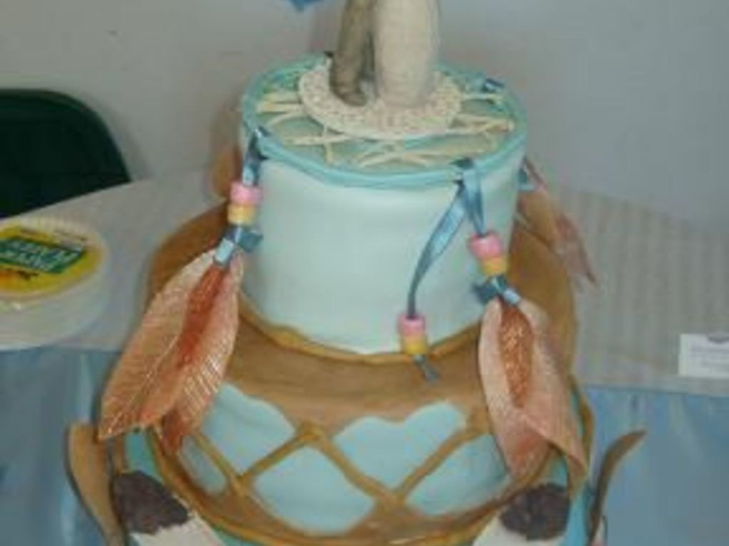 Native American Themed Wedding Cake Cakecentral