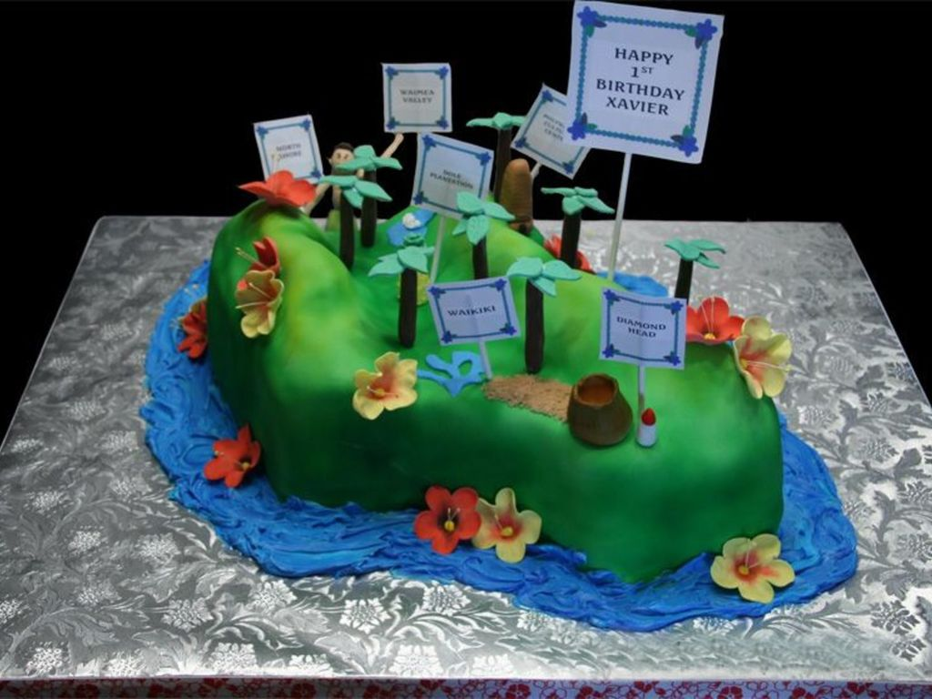 Swell Oahu Hawaii Cakecentral Com Funny Birthday Cards Online Elaedamsfinfo