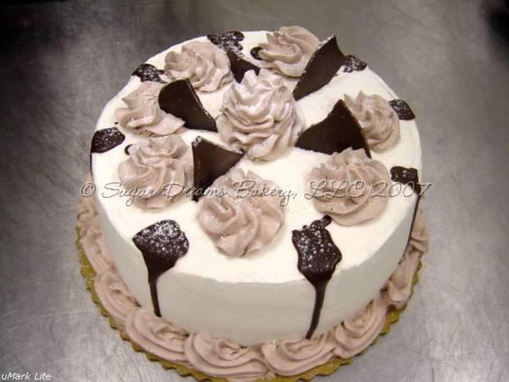 Ebony & Ivory Cake - CakeCentral com