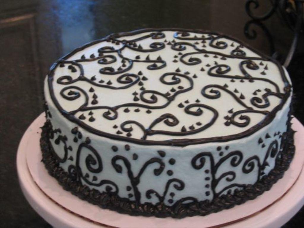 Simple But Elegant Birthday Cake