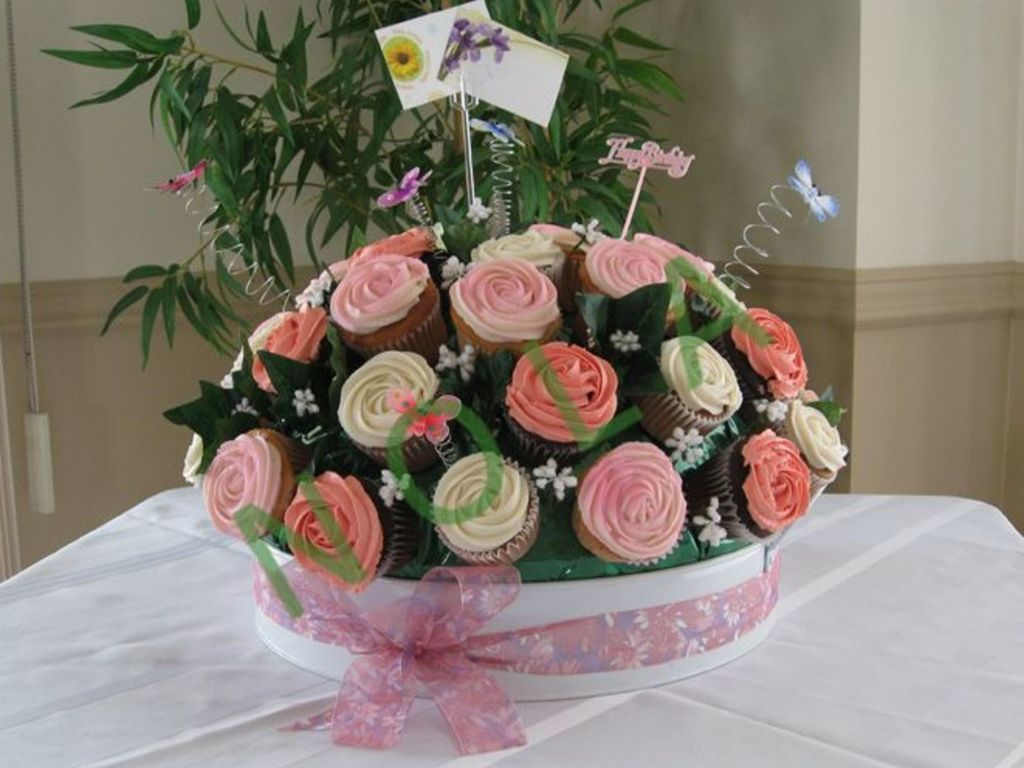 Giant Cupcake Bouquet Cakecentral